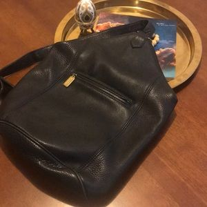 COACH Vintage Pebble Leather Backpack